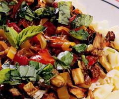 Patlıcanlı Glutensiz Makarna