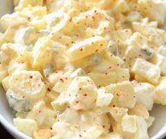 Mayonez Soslu Patates