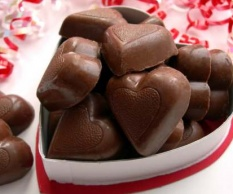 Ev Yapımı Kalp Çikolata