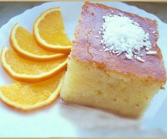 Portakallı Revani