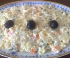 Diyet Rus Salatası