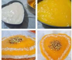 Glutensiz Portakal Soslu Kek