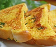 Kahvaltılık Yumurtalı Ekmekler