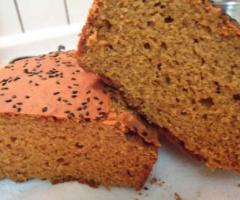 Glutensiz Susamlı Çörekotlu Ekmek